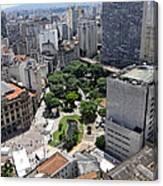 View From Edificio Martinelli 3 - Sao Pulo Canvas Print