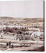 View From Gambles Hill, Richmond Canvas Print