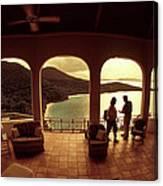 View From Hawks Nest Villa In Virgin Islands Canvas Print