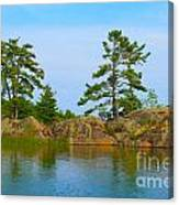View From Killarney Mountain Lodge Canvas Print