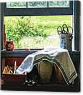 View From Kitchen Window Canvas Print