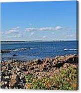 View From Marginal Way Ogunquit Maine 3 Canvas Print