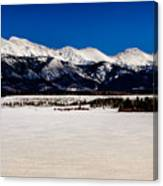 View From Meadow Creek Resevoir Canvas Print