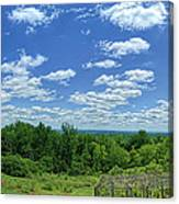 View From Monticello Canvas Print