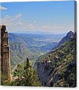 View From Montserrat Mountain Canvas Print