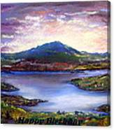 View From Mt Prospect Canvas Print