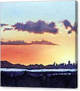 View From My Window Canvas Print