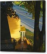 View From My Window On A Summer Afternoon  B-21 Canvas Print