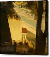 View From My Window On A Summer Afternoon  B-4 Canvas Print