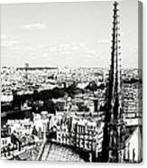 View From Notre Dame Canvas Print