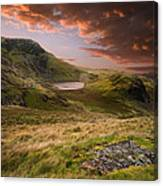 View From Snowdon Canvas Print