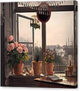 View From The Artist's Window Canvas Print