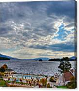 View From The Balcony Suite - Sagamore Resort Canvas Print