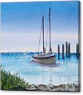View From The Barnacle Canvas Print