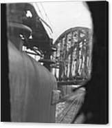 View From The Cab Of A Gg1 Canvas Print