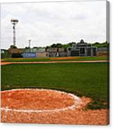 View From The Dugout Canvas Print