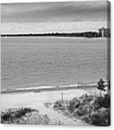 View From The Fort Gratiot Light House Canvas Print