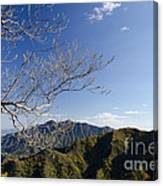 View From The Great Wall 842 Canvas Print