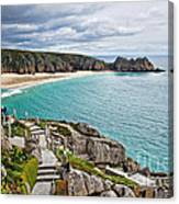 View From The Minack Theatre Canvas Print