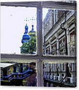 View From The Novodevichy Convent - Russia Canvas Print