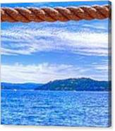 View From The Resort 6799 Canvas Print
