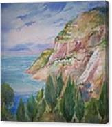 View From Villa Brunella Canvas Print