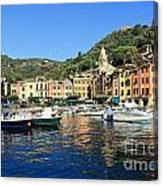 view in Portofino Canvas Print