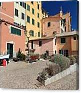 view in Sori Italy Canvas Print