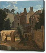View In The Ile-de-france Canvas Print