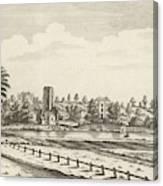 View Near Lichfield  (staffordshire) Canvas Print