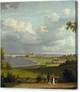 View North Of Kronborg Castle Canvas Print