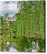 View Of A Botanical Garden, Krakow Canvas Print