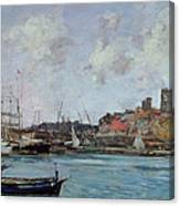 View Of Antibes Canvas Print