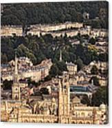 View Of Bath England Canvas Print