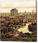 View Of Berlin Canvas Print