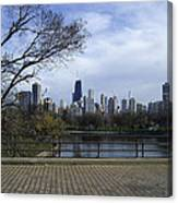 View Of Chicago Canvas Print
