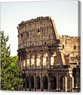 View Of Colosseum Canvas Print