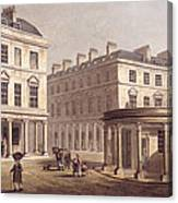 View Of Cross Bath, Bath Street Canvas Print