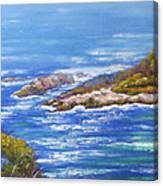 View Of Eden Australia Canvas Print