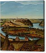 View Of Fort Snelling Canvas Print