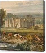 View Of Hampton Court Canvas Print
