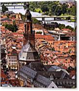 View Of Heidelberg Canvas Print