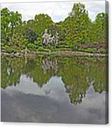 View Of Japanese Garden, Wroclaw, Poland Canvas Print