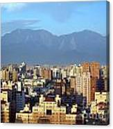 View Of Kaohsiung City In Taiwan Canvas Print