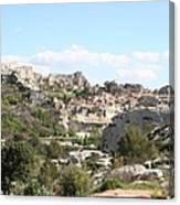 View Of Les Baux De Provence Canvas Print