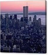 View Of Lower Manhattan Canvas Print