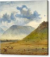View Of Marathon Canvas Print