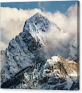 View Of Mount Sneffels And San Juan Canvas Print
