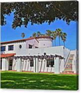 View Of Ole Hanson Beach Club San Clemente Canvas Print