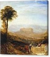 View Of Orvieto Canvas Print